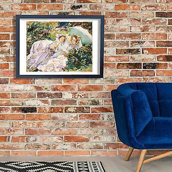 John Singer Sargent - paso de Simplon el Tease Poster impresión Giclee