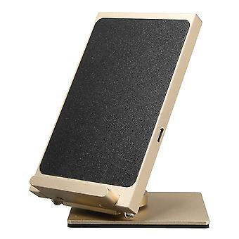 10W 2 coils 360 degree rotation 9v qi wireless fast charger desktop holder for iphone x 8 plus s8 s9
