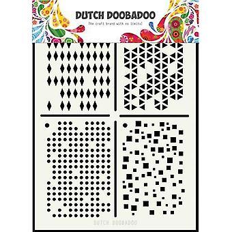 الهولندية Doobadoo الهولندية قناع الفن Multistencil A5 470.715.129