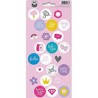 Piatek13 - Sticker sheet Girl Gang 03 P13-GRL-13 10.5x23 cm