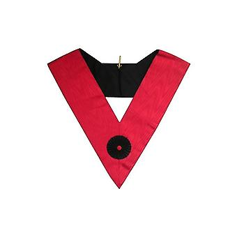 Masonic officer's collar – grand french chapter – knight rose-croix