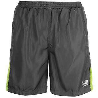Karrimor Mens Sports Long Running Shorts Built in Stretch Pants Bottoms