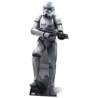 Stormtrooper Star Wars Battle Pose Lifesize Cardboard Cutout / Standee / Stand Up