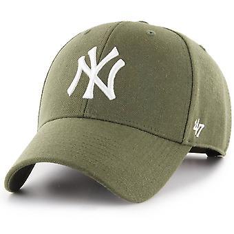 47 Brand Snapback Cap - MLB New York Yankees sandalwood