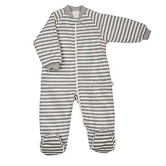 uh-oh! Baby Sleeping Bag with Legs 3.0 tog Warmth Rating Grey Stripe