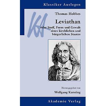 Thomas Hobbes Leviathan by Kersting & Wolfgang