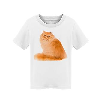 Sideview Ginger Persian Cutie Tee Toddler's -Image by Shutterstock