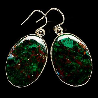 Chrysocolla Earrings 1 1/2