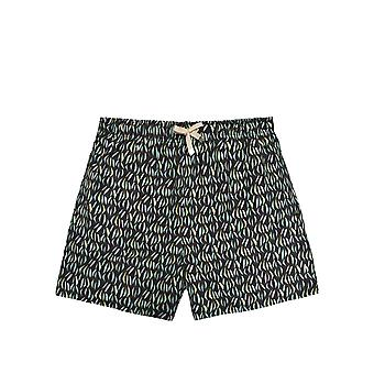 Benibeca Men's Moorea Printed Swim Shorts