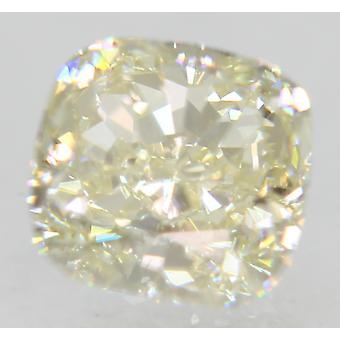 Certified 0.91 Carat J Color VVS1 Cushion Natural Loose Diamond 5.36x5.32mm 2EX