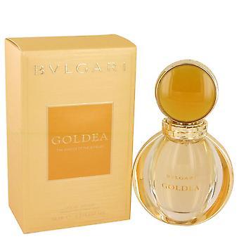 Bvlgari Goldea Eau De Parfum Spray por Bvlgari 1,7 oz Eau De Parfum Spray