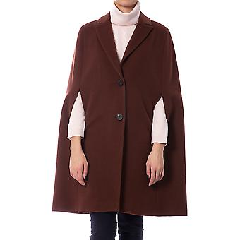 Maroon Coat Weighico Woman