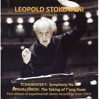 Avshalomov/Tchaikovsky/Smetana - Leopold Stokowski Conducts Tchaikovsky & Avshalomov [CD] USA import