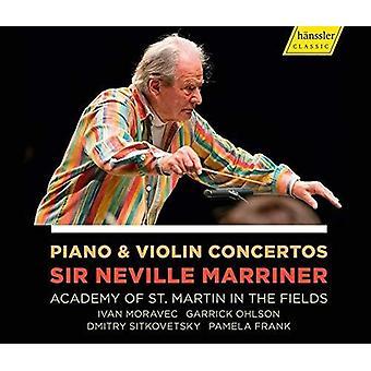 Piano & Violin Concertos [CD] USA import