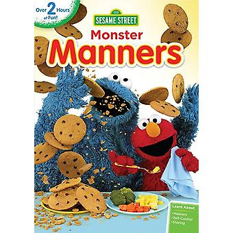 Sesame Street: Monster Manners [DVD] USA import