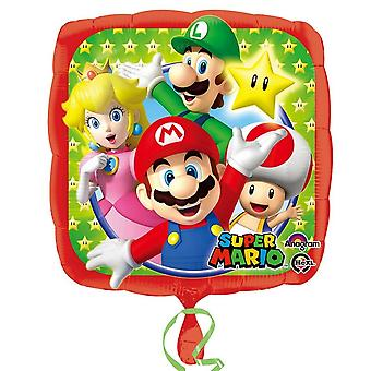 Oaktree 17-Zoll-Super Mario Kinder/Kids offizielle Folie Party Ballon