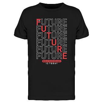 Future Line Art Tee Men's -Imagen por Shutterstock