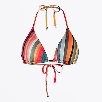 Paul Smith - Swirl Print Classic Bikini Top