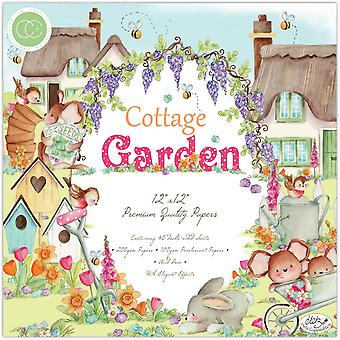 Craft Consortium Cottage Garden 12x12 Inch Paper Pad