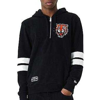 New Era Detroit Tigers MLB Cooperstown Pullover Hoody in Black