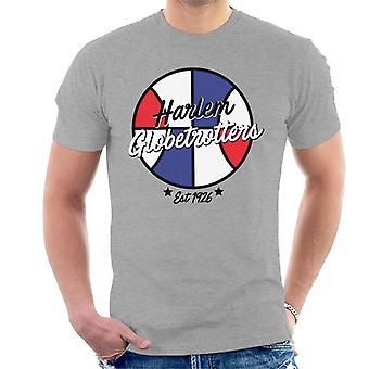 Harlem Globetrotters Retro Ball Logo Men's T-Shirt