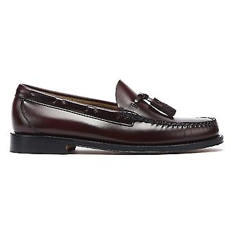 G.H. Bass & Co. Weejuns Heritage Larkin Mens Wine Tassel Loafers