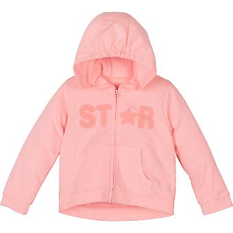 Mamino  Girl   Star  Coral   Long Sleeves Hoodie