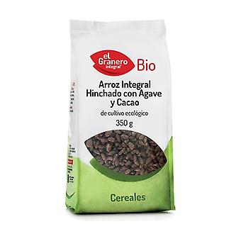 Puffed Rice with Cocoa and Agave Bio 350 g (Cocoa)