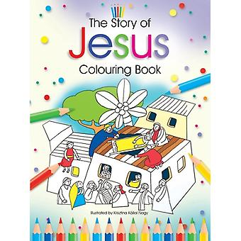 The Story of Jesus Colouring Book by James & Bethan