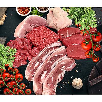 Fresh Local Butchers Meat Box For Two