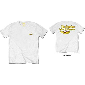 White The Beatles Nothing Is Real Official Tee T-Shirt Mens Unisex