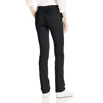 Dickies Juniors Slim Straight Stretch Pant, Black, 5
