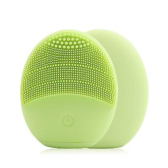 Waterproof And Silicon, Mini Electric Facial Massager-deep Pores Cleansing