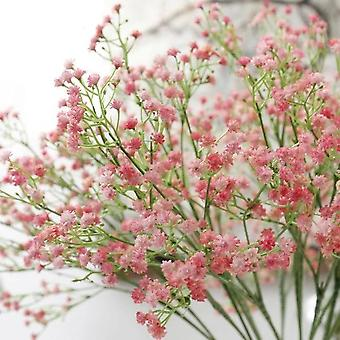 Artificial Baby's Breath Flower Gypsophila Fake Silicone Plant For Wedding Home Hotel Party Decoration