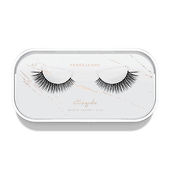 Esqido Unisyn False Eyelashes - Peace & Love - Natural & Lightweight Fake Lashes