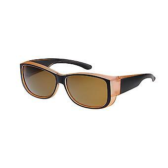 Sunglasses Unisex black/orange with brown lens VZ0035Z