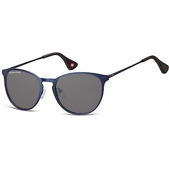Sonnenbrille Unisex    Panto blau MP88B