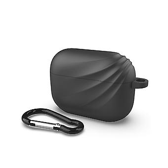 Apple Airpods Pro case with hook - Black Deluxe
