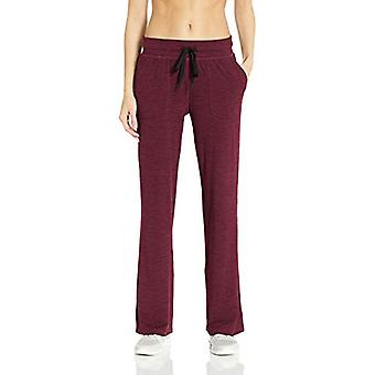 Essentials Womenăs Periat Tech Stretch Pant, Burgundia Spacedye, X-Small