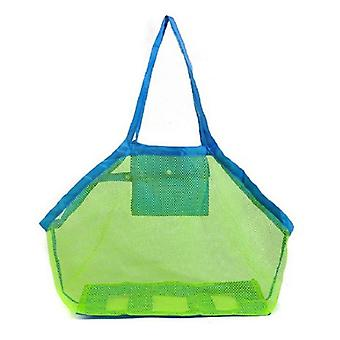 Sand Away Protable Mesh Bag, Beach Toys Storage Sundries Bags Toy Storage Bag