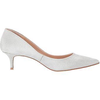 Jewel Badgley Mischka Womenăs ROYALTY Shoe, Silver Glitter, 7.5 M SUA