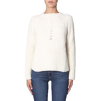 Aspesi 4092553001071 Mulheres'Suéter de Lã Bege