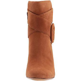 Naturalizer läderstövlar Womens Rae runda tå fotled mode