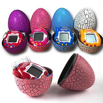 Wielokolorowe Dinosaur Egg Virtual Cyber Digital Pet Toy Tamagotchis Electronic E-pet Christmas Gift (losowy kolor)