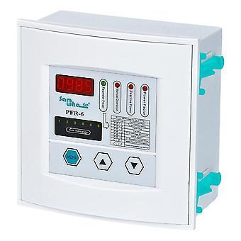 Samwha-dsp Pfr-6 Power Factor-controller, 6 trin, 380vac 50/60Hz