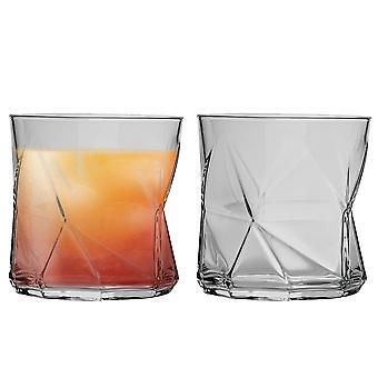 Bormioli Rocco Cassiopea Tumbler Glasses - 330ml (11.25oz) - Set of 2