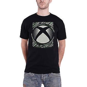 Xbox T Shirt Jump I Klassisk Logo nya officiella Mens Svart