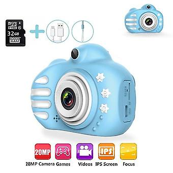 Dc C-5v/1a Kids Camera-16gb/32gb Sd Card , Ips de 2,4 Polegadas