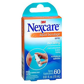 Nexcare No Sting Liquid Bandage Spray, 0,61 oz