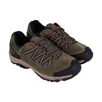 Hi-Tec Dexter Low Waterproof Mens Brown Lace Up Trail Sportschoenen